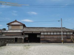 修繕工事はすでに終了していた旧御師 丸岡宗大夫邸(伊勢市宮町)