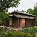 修復後の金森得水 別邸(茶室)「玄甲舎」