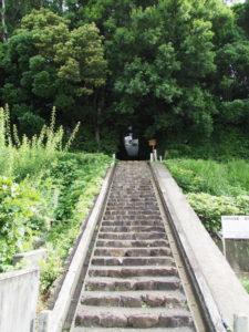 制札が立て替えられていた棒原神社(皇大神宮 摂社)