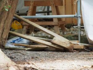 工事のための道具、棒原神社(皇大神宮 摂社)