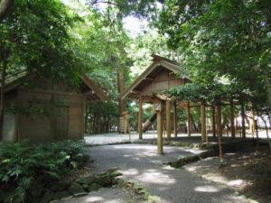 忌火屋殿と祓所、伊雜宮(皇大神宮 別宮)
