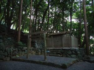 赤崎祭りが中止となった赤崎神社(豊受大神宮 末社)