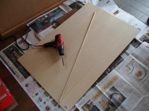 有孔ボード製作の材料