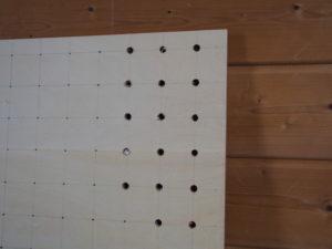 有孔ボード製作
