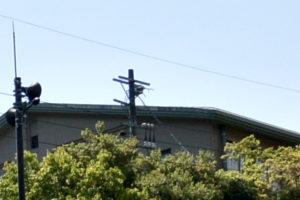 伊勢市教育委員会 松下倉庫への電気の引き込み(2018年04月22日)