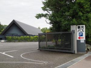 せんぐう館付近の観光バス駐車場(外宮)