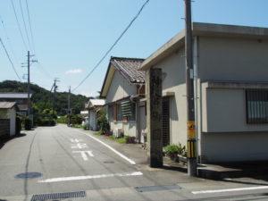御塩道(神宮御園付近)