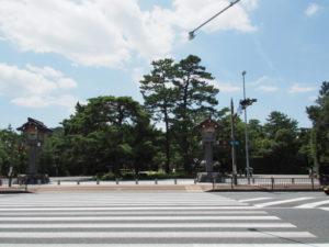 外宮前交差点(伊勢市本町)