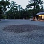 外宮のミステリーサークル(表参道口)