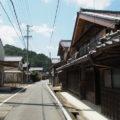 和歌山別街道(多気町古江)