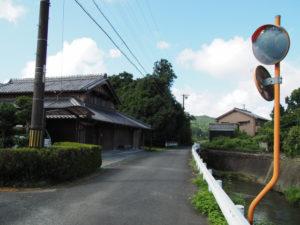 和歌山別街道(多気町朝柄)