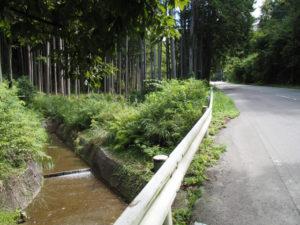 和歌山別街道・国道368号(松阪市飯南町粥見)