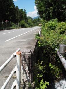 不動橋、和歌山別街道・国道368号(松阪市飯南町粥見)