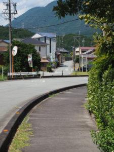 国道368号から離れる和歌山別街道(松阪市飯南町粥見)