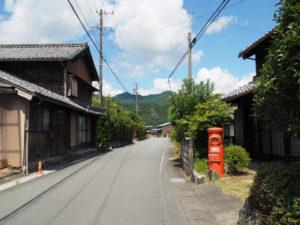 和歌山別街道(松阪市飯南町粥見)