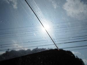 ゴール直前の雨(多気町片野)