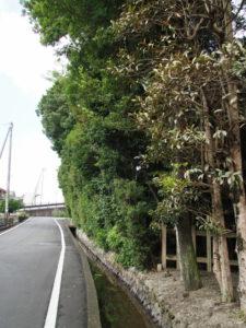 大土御祖神社(皇大神宮 摂社)前を流れる水路