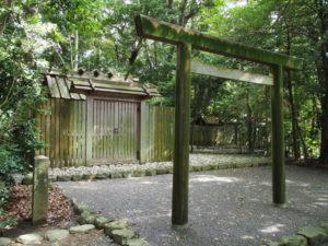 大土御祖神社と国津御祖神社(ともに皇大神宮 摂社)
