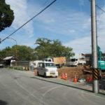 度会大国玉比賣神社(豊受大神宮 摂社)前の解体工事はほぼ終了