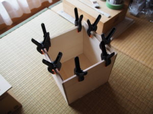 CUBE-BOXの製作