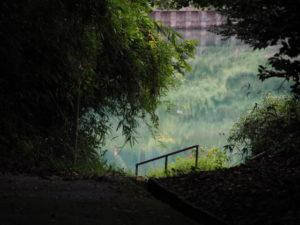 久具都比賣神社(皇大神宮 摂社)裏を流れる宮川