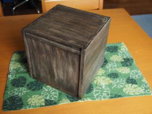 BOX製作の完成