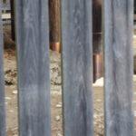 柱の銅板が巻き直された八尋殿、神服織機殿神社(皇大神宮 所管社)
