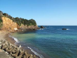 須場の浜(志摩市大王町波切)