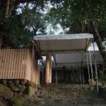 仮殿遷座の朝、田上大水神社・田上大水御前神社(豊受大神宮 摂社)