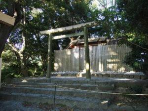 仮殿遷座を終えていた田上大水神社・田上大水御前神社(豊受大神宮 摂社)