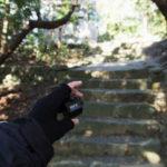 長い石階の段数調査、神前神社(皇大神宮 摂社)