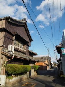 古い町並み(伊勢市神社港)