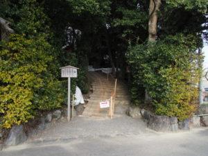 工事が開始された田上大水神社・田上大水御前神社(豊受大神宮 摂社)