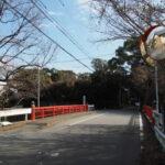 松尾観音寺前の松尾橋(伊勢市楠部町)