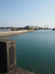 湊橋から望む大湊川