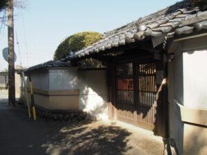 善光寺嶺松院のお稲荷さん(伊勢市大湊町)