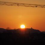 本日の黎明