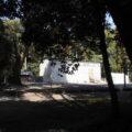 本日も簀屋根が掛けられた状態だった八尋殿、神服織機殿神社(皇大神宮 所管社)