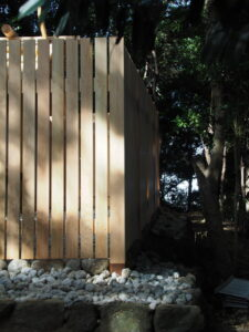 修繕工事が終わった田上大水神社・田上大水御前神社(豊受大神宮 摂社)