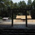 修繕は終盤となった八尋殿、神服織機殿神社(皇大神宮 所管社)
