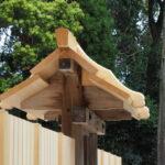 ほぼ修繕を終えた八尋殿、神服織機殿神社(皇大神宮 所管社)