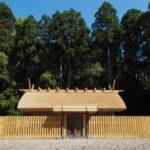 修繕が完了した八尋殿、神服織機殿神社(皇大神宮 所管社)