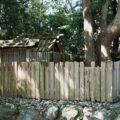 二重の御垣で囲われている御食神社(豊受大神宮 摂社)