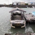 廃船となっていた木造船「みずき」