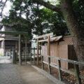 今週に建てられた仮殿、御食神社(豊受大神宮 摂社)