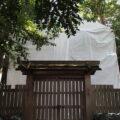 簀屋根が掛けられた御食神社(豊受大神宮 摂社)