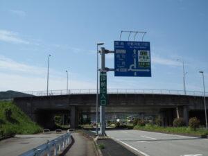 国道23号 伊勢自動車道 伊勢IC入口付近