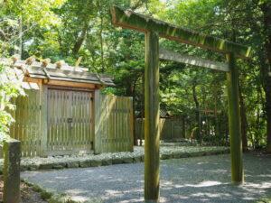 大土御祖神社(皇大神宮 摂社)、国津御祖神社(同)