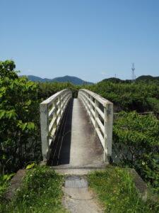 朝熊川に架かる橋(朝熊神社付近)