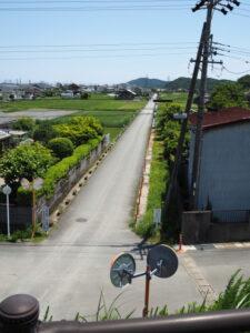 国道23号から汐合方向の遠望(伊勢市通町)